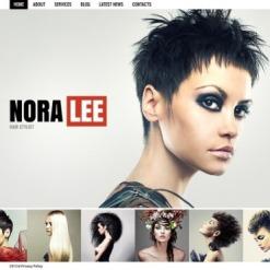 Hair Salon Website Template