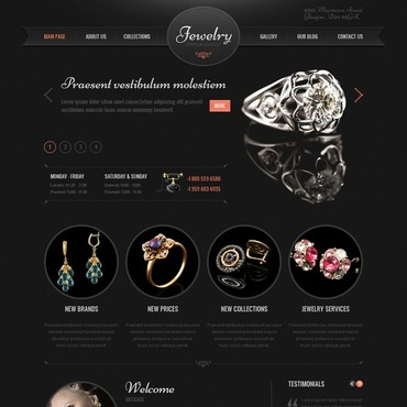 Jewelry WordPress Theme