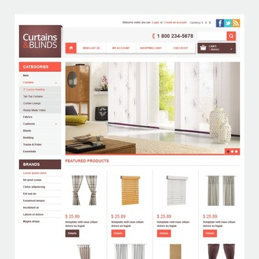 Window Decor OpenCart Template