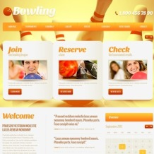 Bowling Website Template