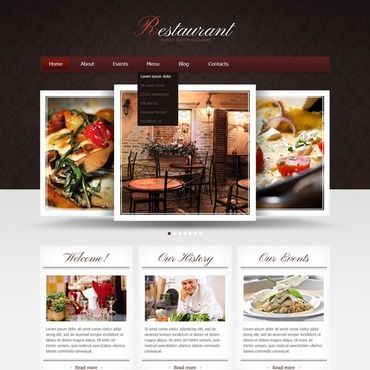 European Restaurant Joomla Template