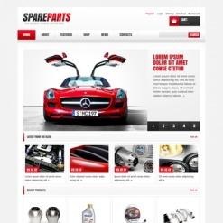 Auto Parts Responsive Jigoshop Theme