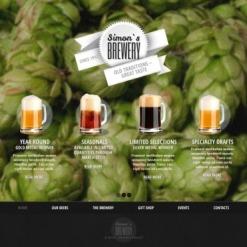 Brewery Website Template