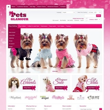Pet Shop Magento Theme