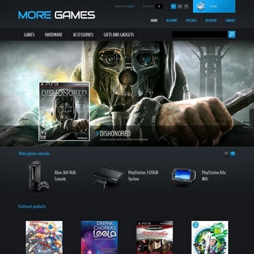 Game Portal PrestaShop Theme