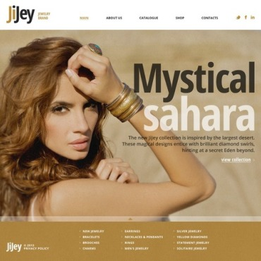 Jewelry Website Template