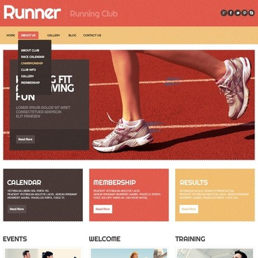 Running Responsive WordPress Theme