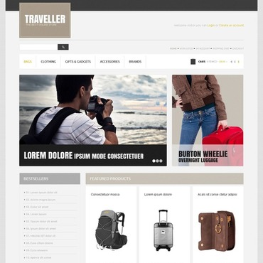 Travel Store OpenCart Template