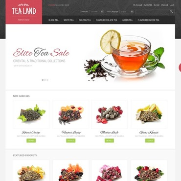Tea Shop Magento Theme