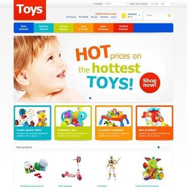 Toy Store Magento Theme