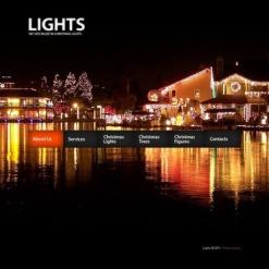 Christmas Facebook HTML CMS Template