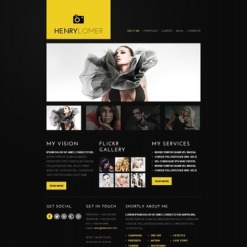 Photographer Portfolio Facebook Template