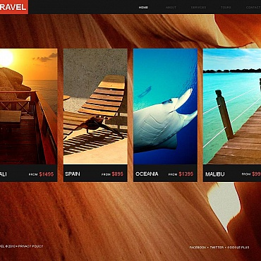 Travel Moto CMS HTML Template
