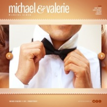 Wedding Album Website Template