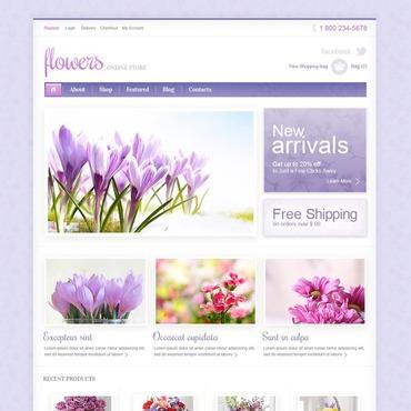 Flower Shop Responsive Jigoshop Theme