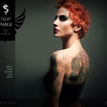 Tattoo Salon Responsive Joomla Template