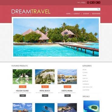 Travel Agency Responsive PrestaShop Theme
