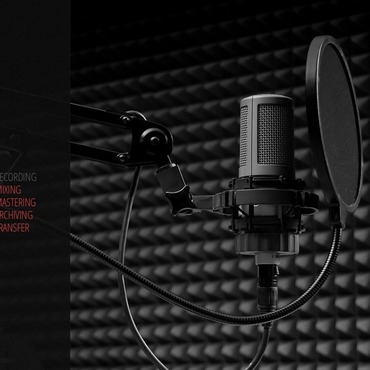 Recording Studio Flash CMS Template #44685