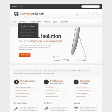 Computer Repair Responsive Joomla Template