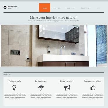 Flooring Responsive Joomla Template #45001