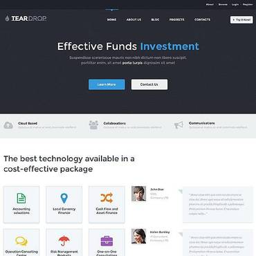 Investment Company WordPress Theme