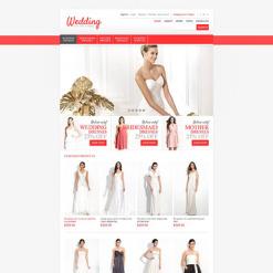 Wedding Shop Responsive Jigoshop Theme