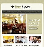 Restaurant Reviews Facebook HTML CMS Template