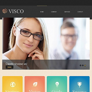 Advertising Agency Facebook HTML CMS Template