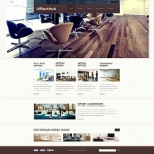 Office Flash CMS Template