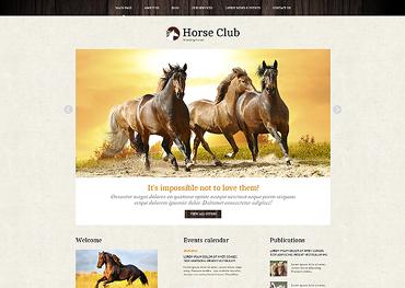 Horse Responsive Joomla Template