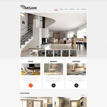 Respectable Interior Design Wix Website Template #46257