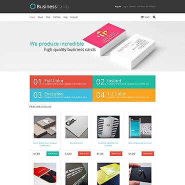 Print Shop Responsive Jigoshop Theme