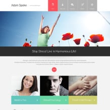 Psychologist Responsive Website Template