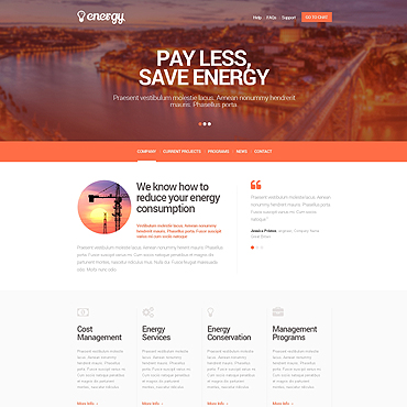 Lighting Website Templates