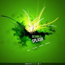 Design Studio Flash CMS Template