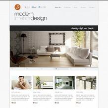 Interior & Furniture Flash CMS Template