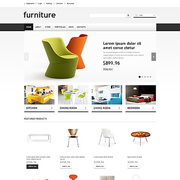 Furniture Responsive WooCommerce Theme