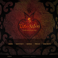 Tattoo Salon Website Template