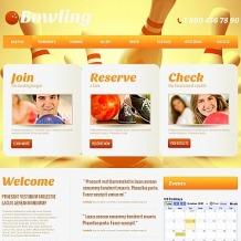 Bowling Moto CMS HTML Template