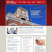 Government Moto CMS HTML Template