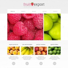 Fruit Moto CMS HTML Template