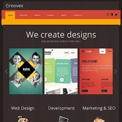Design Studio Facebook HTML CMS Template
