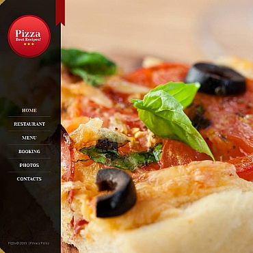 Pizza Moto CMS HTML Template