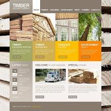 Timber Moto CMS HTML Template