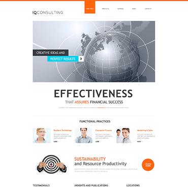 Consulting Responsive WordPress Theme