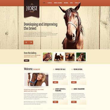 Horse Drupal Template