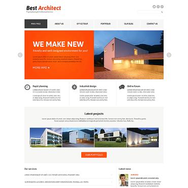 Architecture Responsive Joomla Template #47361