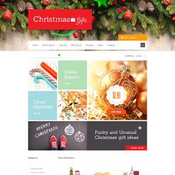 Christmas ZenCart Template