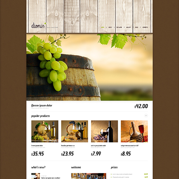 Wine Responsive WordPress Theme
