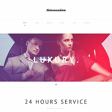 Limousine Services Moto CMS HTML Template